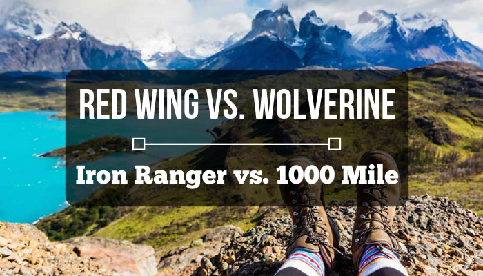 red wing iron ranger vs wolverine 1000 mile